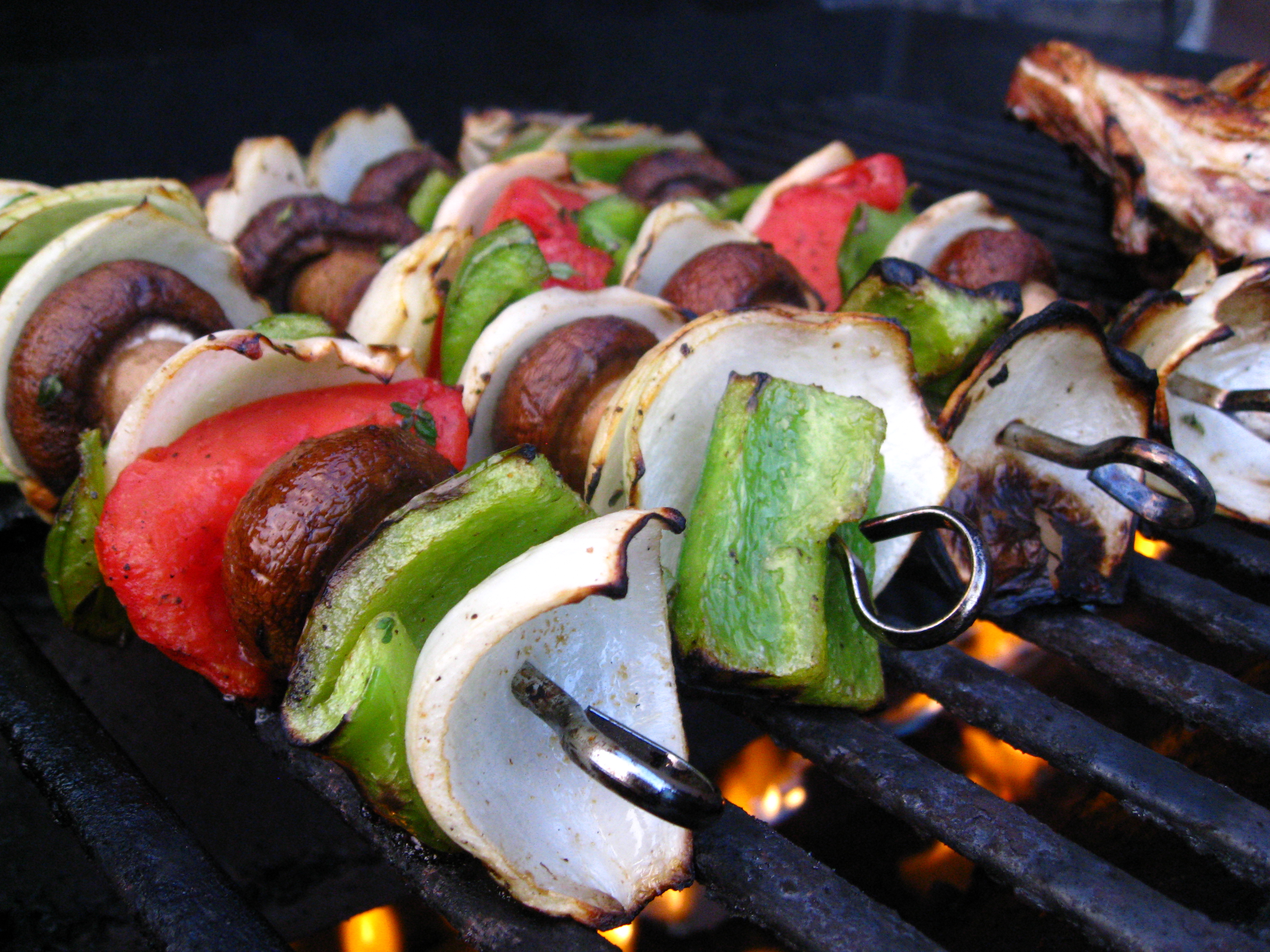recipe goodness :: grilled thyme-cumin vegetable kabobs | 8.ate@eight