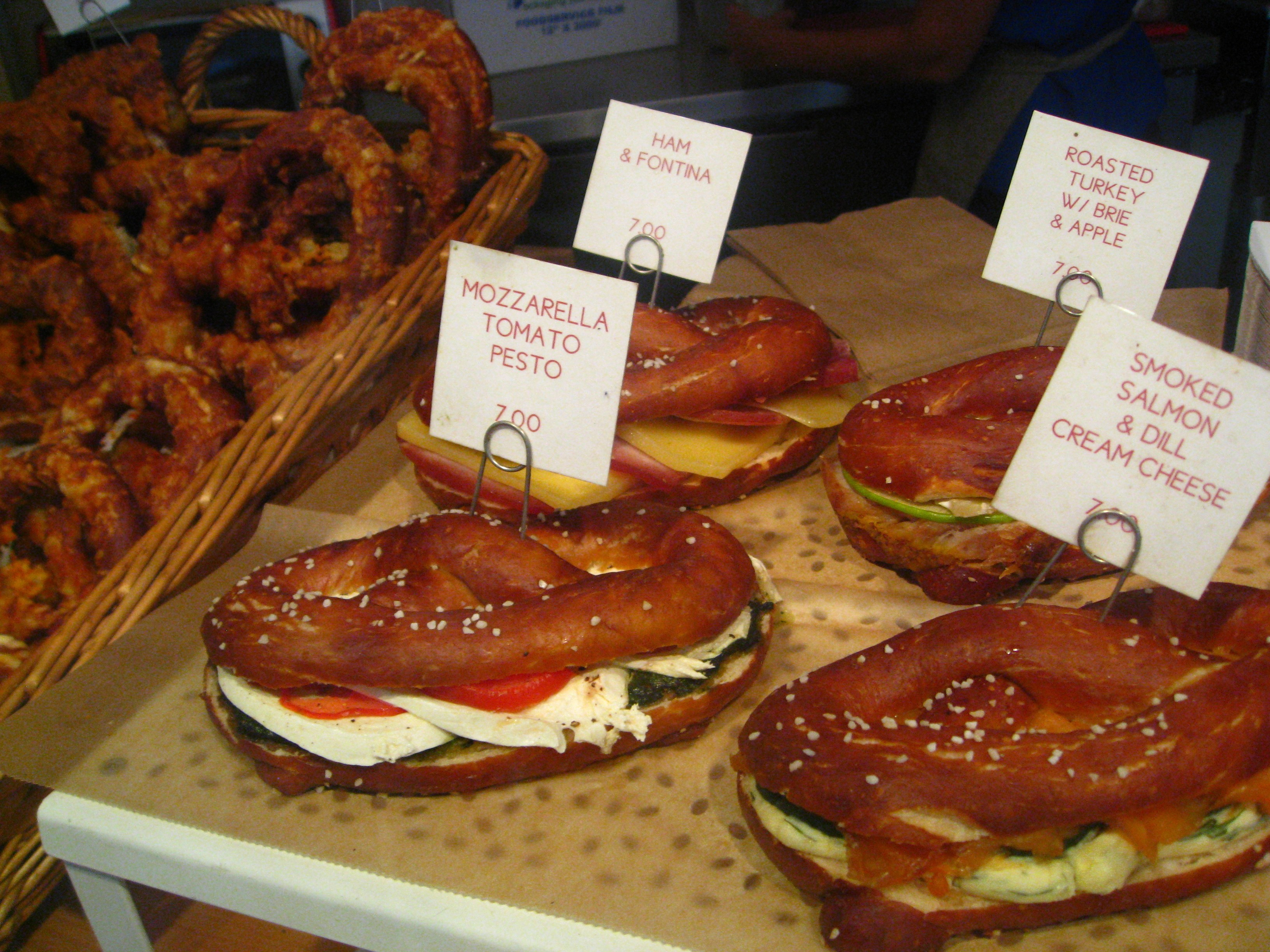 Soft & Salty Snack @Sigmund Pretzelshop | 8.ate@eight