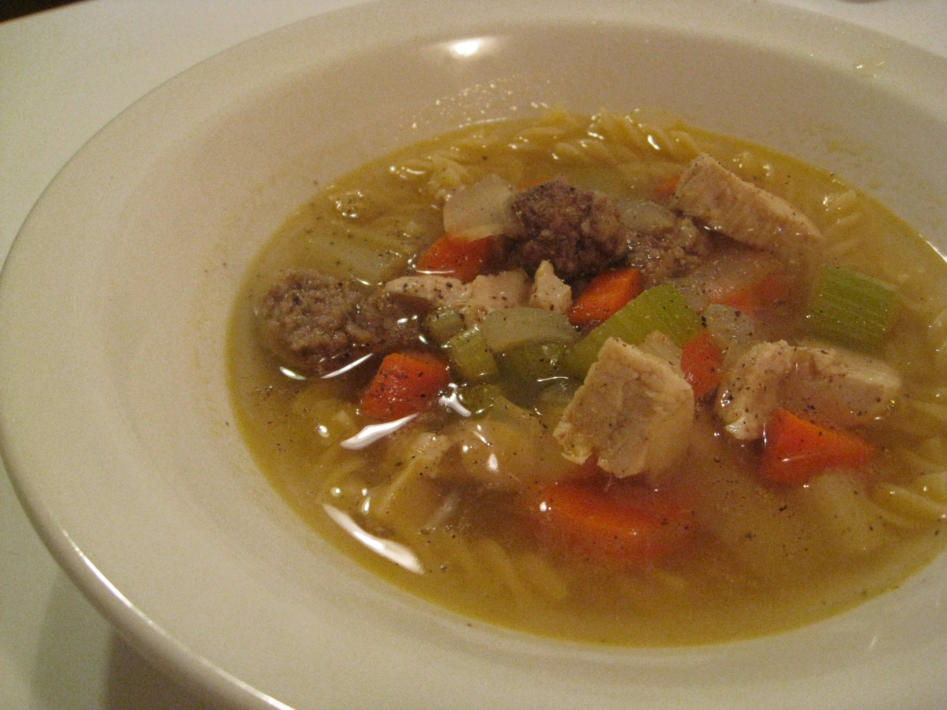 ... goodness :: grandma's italian wedding chicken soup | 8.ate@eight