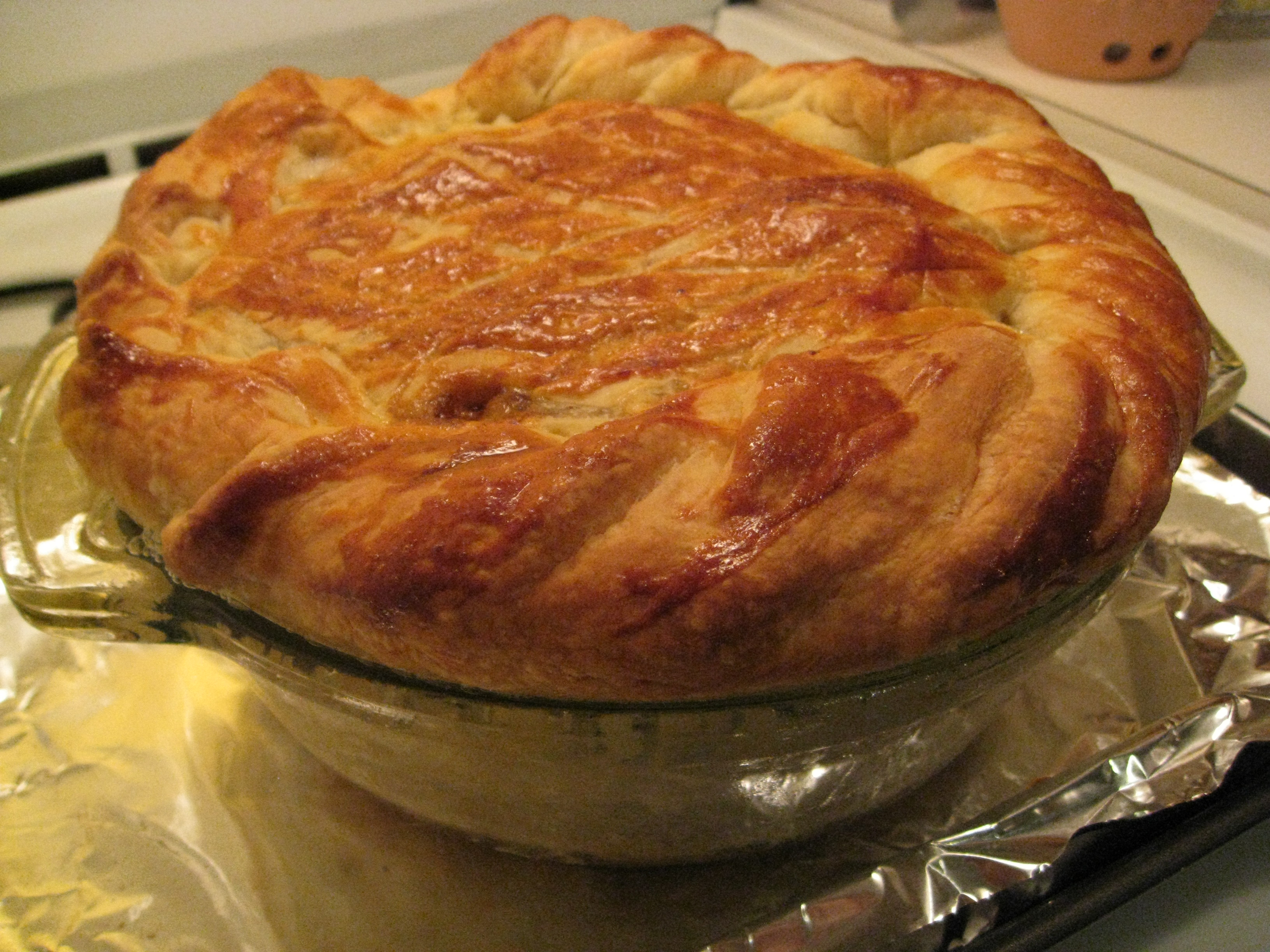 recipe goodness :: irish steak & guinness puff pastry pie ...