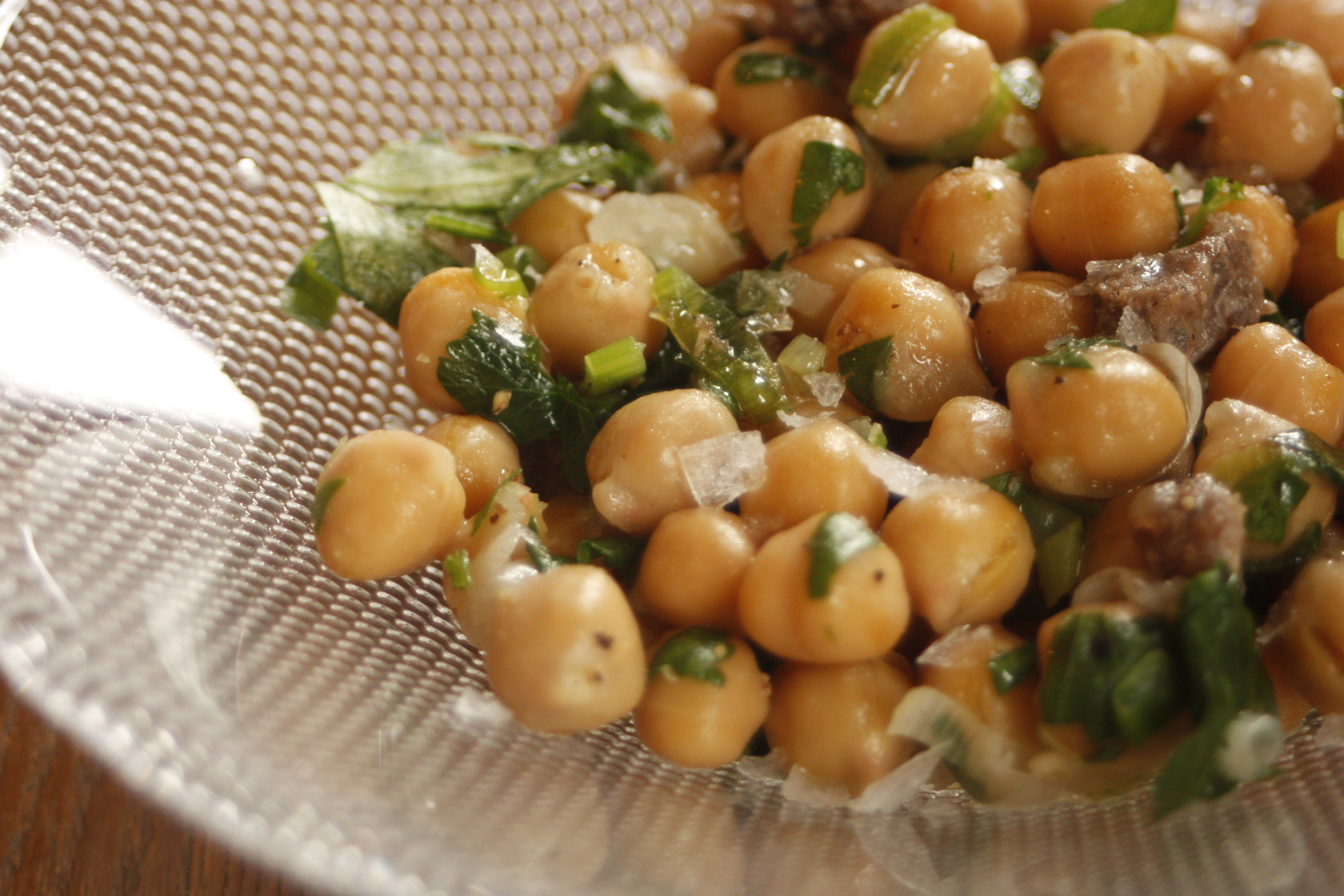 ... barcelona favorite recreated | balsamic chick pea salad | 8.ate@eight