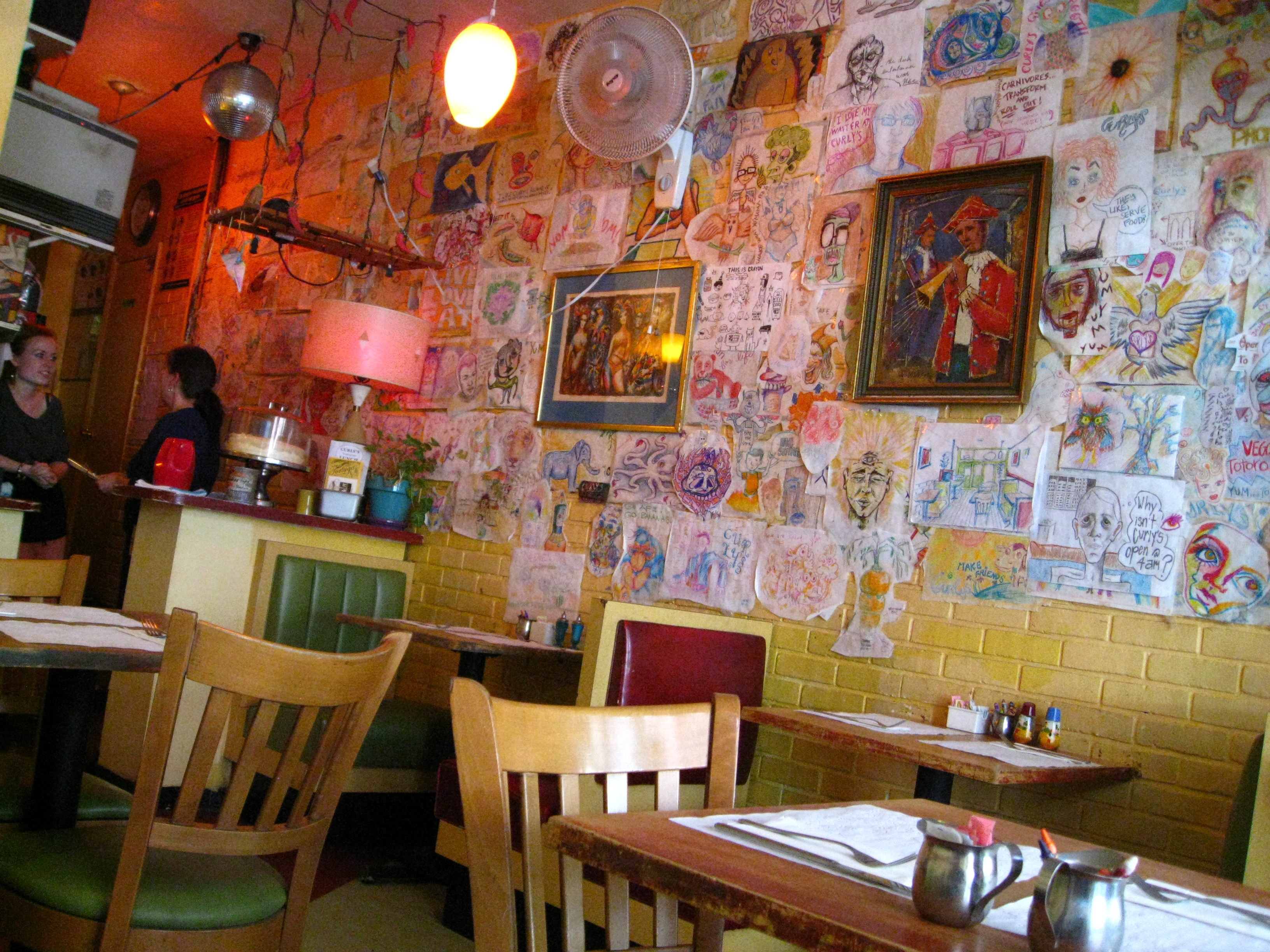 Curly S Comfortable Quirky And Vegetarian Cafe 8 Ate Eight