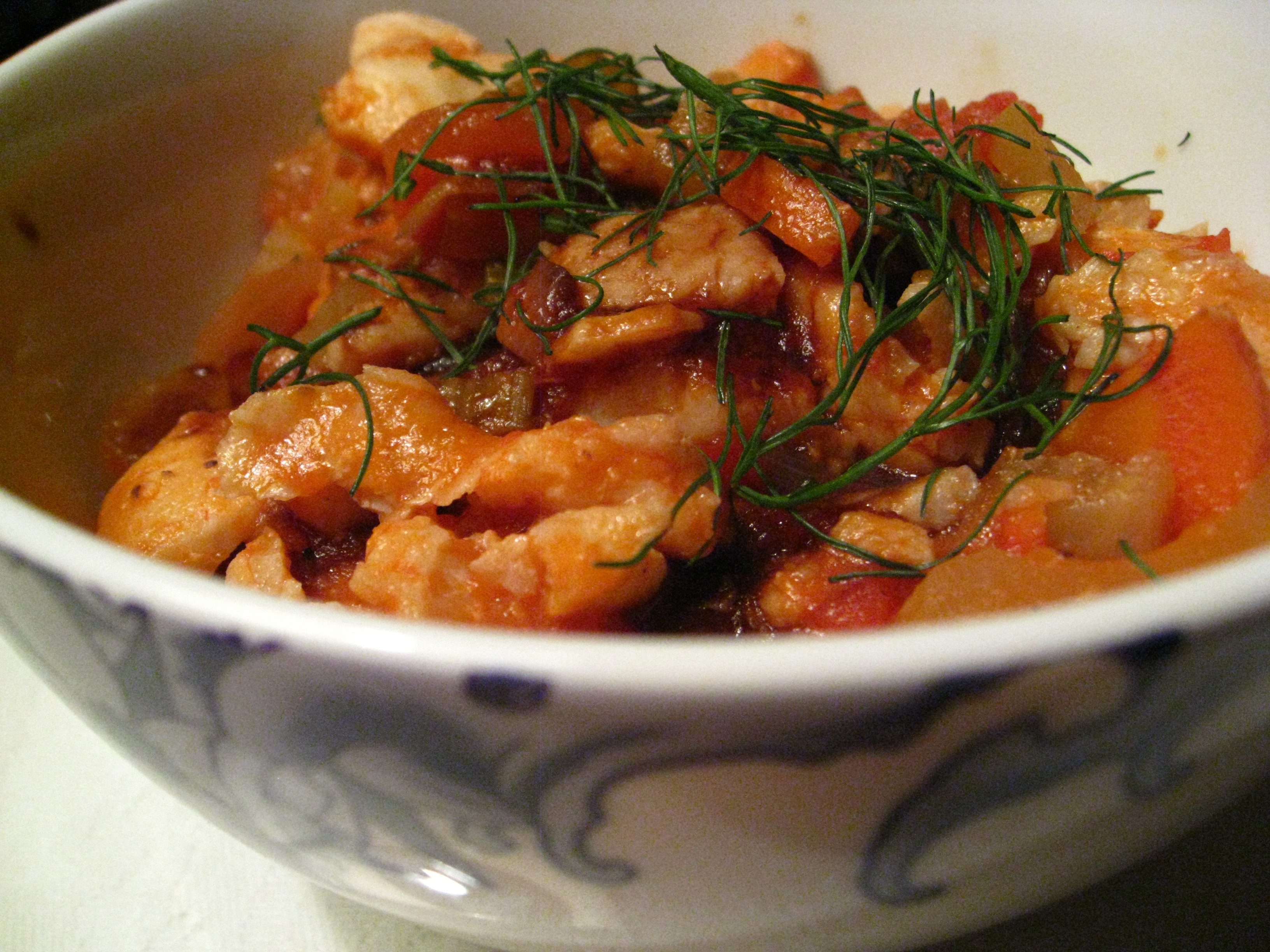 recipe goodness :: spicy balsamic and fennel fish stew