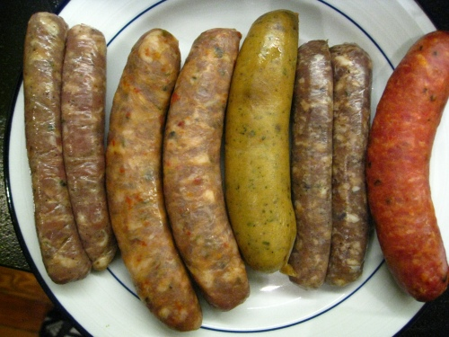 Rosamunde Serves Serious Sausage Selection