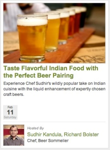Indian Food and Beer Pairing