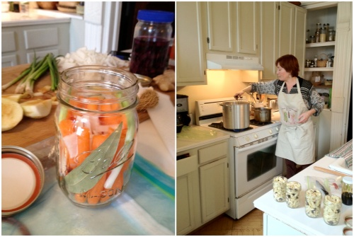 Leda Meredith Makes Hot Water Bath Pickled Carrots