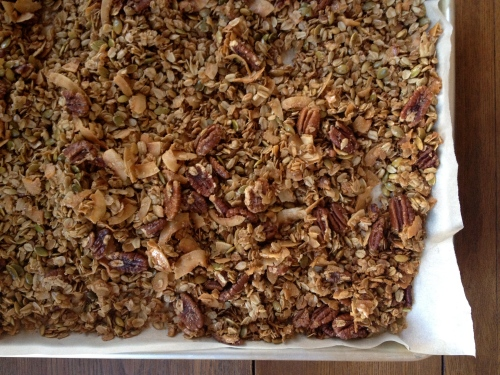 Early Bird Olive Oil and Maple Syrup Granola