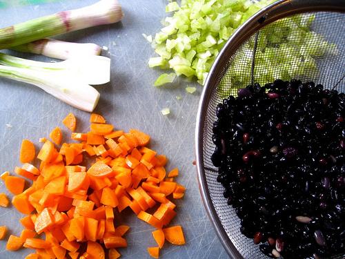 Homemade Black Beans