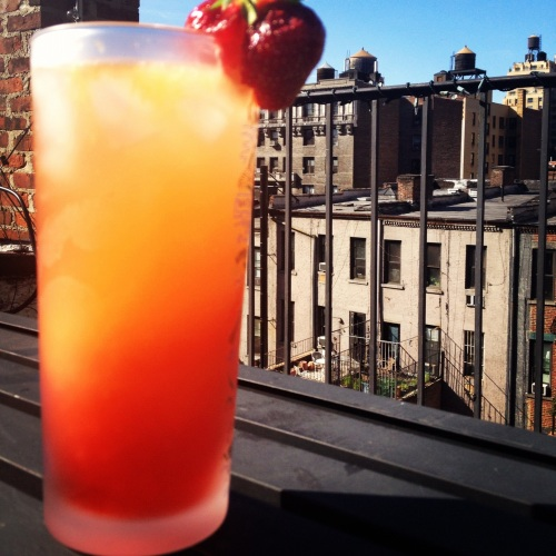 Campari Orange Spritzer