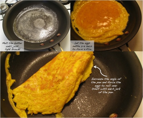 Julia Child's French Omelet