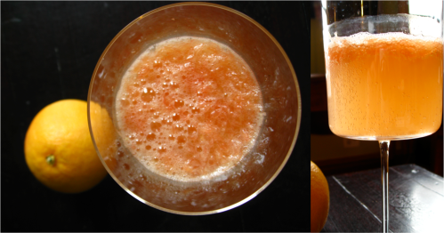 Spritzy Grapefruit Juice