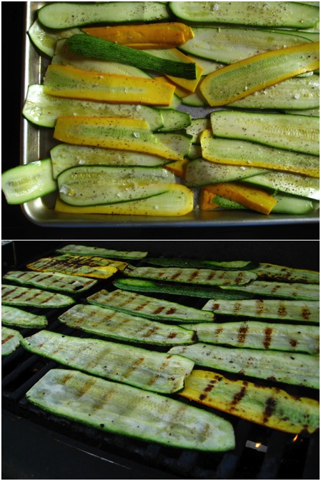 recipe goodness :: grilled zucchini & summer squash pesto ...