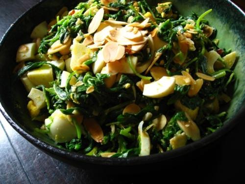 Heidi Swanson's Spinach Chop