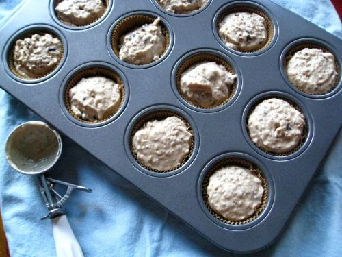 Filling muffins