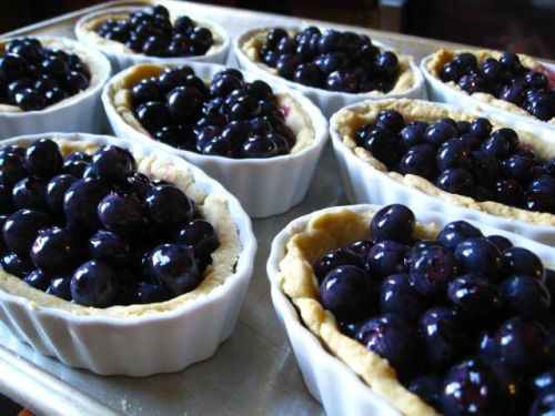 Sara Moulton's Blueberry Lemon Tart